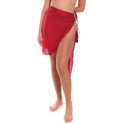 Textil Ženy Plážový šátek Me Fui M20-0052RS Červené