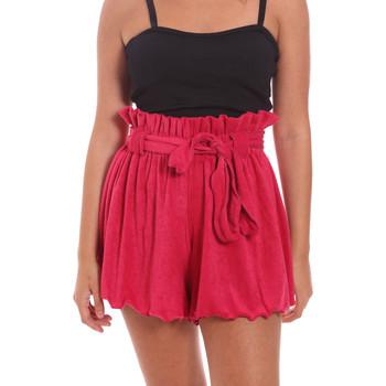 Textil Ženy Kraťasy / Bermudy F * * K  Růžový