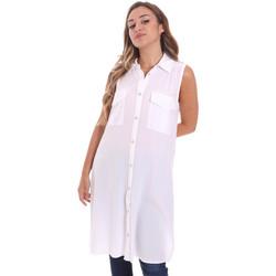 Textil Ženy Košile / Halenky Fracomina FR21ST1017W42801 Bílý
