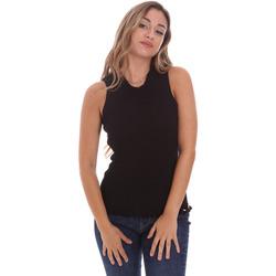 Textil Ženy Halenky / Blůzy Fracomina FR21ST4001K43301 Černá