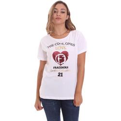 Textil Ženy Trička s krátkým rukávem Fracomina FP21ST3023J40013 Bílý