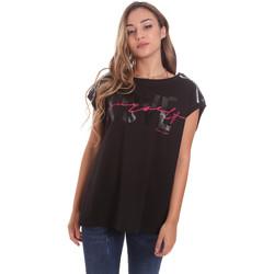 Textil Ženy Trička s krátkým rukávem Fracomina FT21ST3002J400N5 Černá