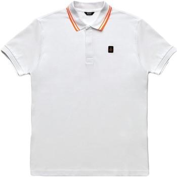 Textil Muži Polo s krátkými rukávy Refrigiwear RM0T24000PX9032 Bílý