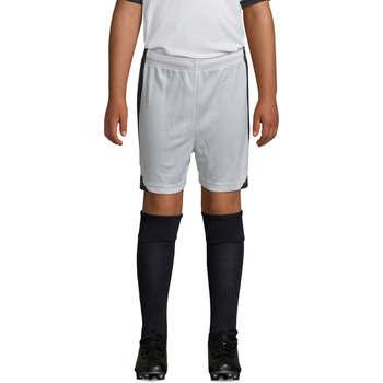Textil Chlapecké Kraťasy / Bermudy Sols OLIMPICO KIDS pantalón corto Blanco