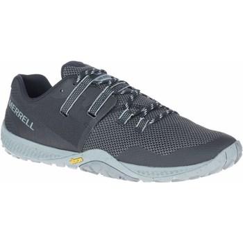 Boty Muži Běžecké / Krosové boty Merrell Trail Glove 6 Šedé