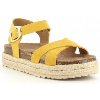 Boty Dívčí Sandály Obi Shoes PALA CRUZADA jaune