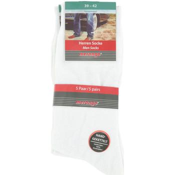 Doplňky  Muži Ponožky Merango Pack x5 Socks Bílá