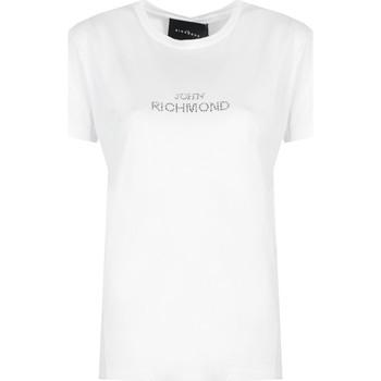 Textil Ženy Trička s krátkým rukávem John Richmond  Bílá
