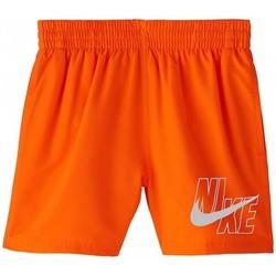 Textil Chlapecké Plavky / Kraťasy Nike BAÑADOR NIÑO  NESSA771 Oranžová