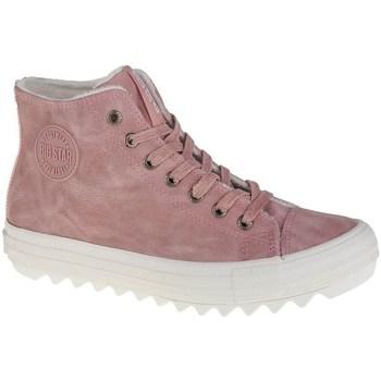 Boty Ženy Kotníkové boty Big Star EE274113 Růžové