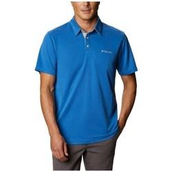 Textil Muži Polo s krátkými rukávy Columbia Nelson Point Polo Modré