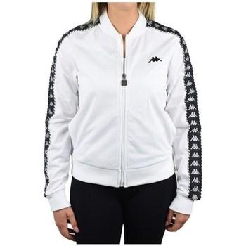 Textil Ženy Mikiny Kappa Imilia Training Jacket Bílé