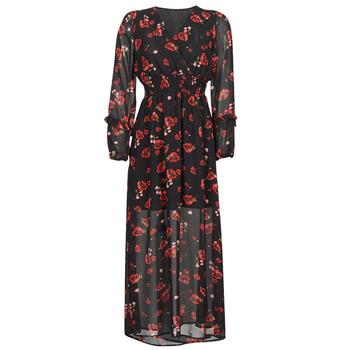 Textil Ženy Společenské šaty Moony Mood PILAF Černá / Červená