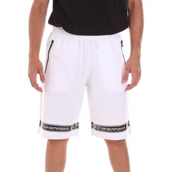 Textil Muži Kraťasy / Bermudy Ea7 Emporio Armani 3KPS56 PJ05Z Bílý