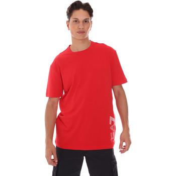 Textil Muži Trička s krátkým rukávem Ea7 Emporio Armani 3KPT23 PJ9TZ Červené