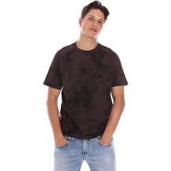Textil Muži Trička s krátkým rukávem Calvin Klein Jeans K10K106832 Hnědý