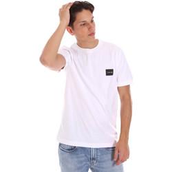 Textil Muži Trička s krátkým rukávem Calvin Klein Jeans K10K107281 Bílý