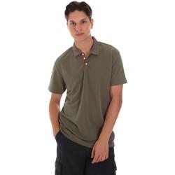 Textil Muži Polo s krátkými rukávy Museum MS21BEUPC06MO936 Zelený