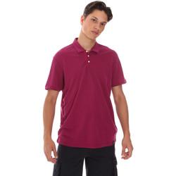 Textil Muži Polo s krátkými rukávy Museum MS21BEUPC06MO936 Fialový