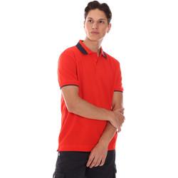 Textil Muži Polo s krátkými rukávy Invicta 4452240/U Červené