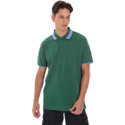 Textil Muži Polo s krátkými rukávy Invicta 4452240/U Zelený