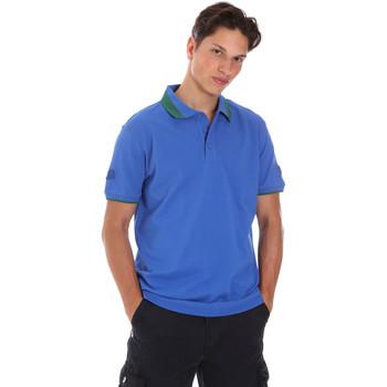 Textil Muži Polo s krátkými rukávy Invicta 4452240/U Modrý