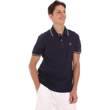 Textil Muži Polo s krátkými rukávy Museum MS21BEUPC06PT542 Modrý