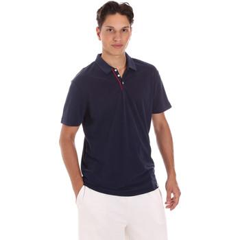 Textil Muži Polo s krátkými rukávy Museum MS21BEUPC06MO936 Modrý