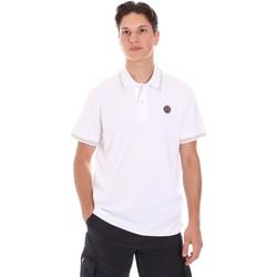 Textil Muži Polo s krátkými rukávy Museum MS21BEUPC06PT542 Bílý