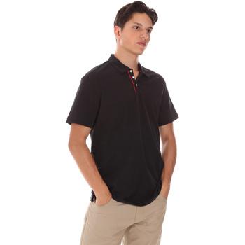 Textil Muži Polo s krátkými rukávy Museum MS21BEUPC06MO936 Černá