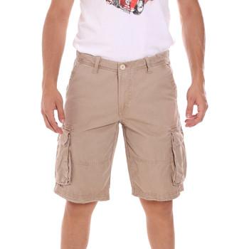Textil Muži Kraťasy / Bermudy Gaudi 111GU25042 Béžový
