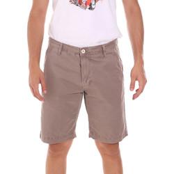 Textil Muži Kraťasy / Bermudy Gaudi 111GU25043WH Béžový