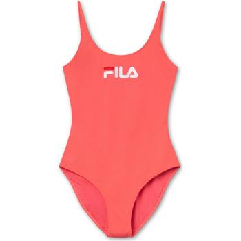 Textil Ženy jednodílné plavky Fila 687200 Červené
