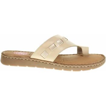 Boty Ženy Sandály Jana Dámské pantofle  8-27108-26 macchiato Béžová