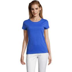 Textil Ženy Trička s krátkým rukávem Sols CAMISETA MANGA CORTA RAINBOW Azul