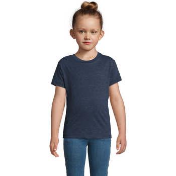 Textil Děti Trička s krátkým rukávem Sols REGENT FIT CAMISETA MANGA CORTA Azul