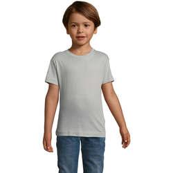 Textil Děti Trička s krátkým rukávem Sols REGENT FIT CAMISETA MANGA CORTA Gris