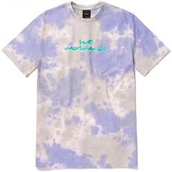 Textil Muži Trička s krátkým rukávem Huf T-shirt chemistry ss Fialová