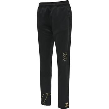 Textil Ženy Teplákové kalhoty Hummel Pantalon femme  hmlCIMA noir