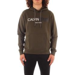 Textil Muži Mikiny Calvin Klein Jeans K10K107168 Zelená