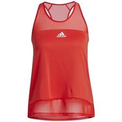Textil Ženy Tílka / Trička bez rukávů  adidas Originals Training Heatrdy Mesh Tank Top Červené