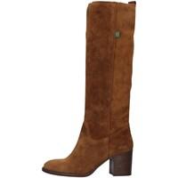 Boty Ženy Kozačky Dakota Boots DKT8 Hnědá