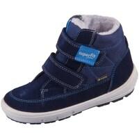 Boty Děti Zimní boty Superfit Groovy Modré, Tmavomodré