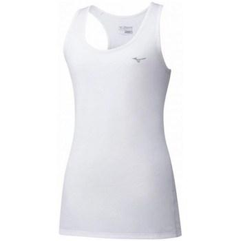 Textil Ženy Tílka / Trička bez rukávů  Mizuno Impulse Core Tank Bílé