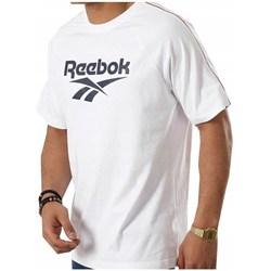 Textil Muži Trička s krátkým rukávem Reebok Sport CL V P Tee Bílé