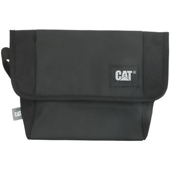 Taška Sportovní tašky Caterpillar Detroit Courier Bag Černá