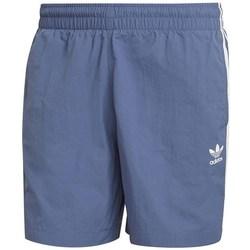 Textil Muži Kraťasy / Bermudy adidas Originals 3STRIPE Swims Modré