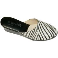 Boty Ženy Pantofle Milly MILLY5000zebra nero