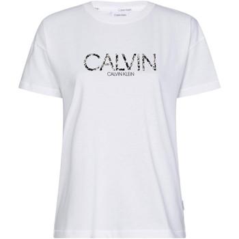 Textil Ženy Trička s krátkým rukávem Calvin Klein Jeans K20K201861 Bílý
