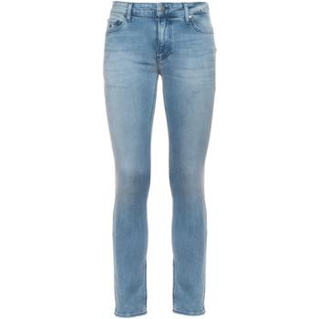 Textil Muži Rifle slim Calvin Klein Jeans K10K106559 Modrý